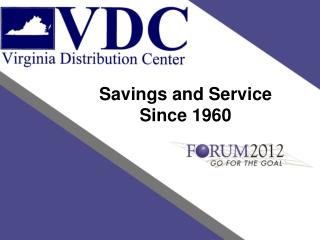 Savings and Service Since 1960