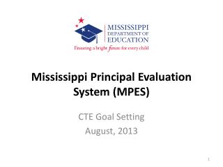 Mississippi Principal Evaluation System (MPES)