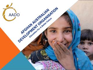 Afghan Australian Development Organisation Education For A Better Future
