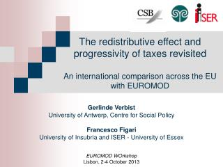 The  redistributive effect  and progressivity  of taxes revisited