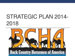 Strategic Plan 2014-2018