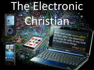 The Electronic Christian