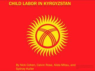 Child Labor in Kyrgyzstan