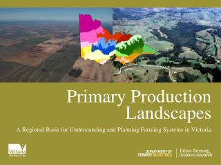 Primary Production Landscapes
