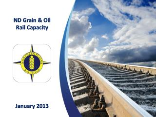 ND Grain & Oil Rail Capacity