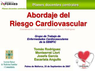Abordaje del  Riesgo Cardiovascular