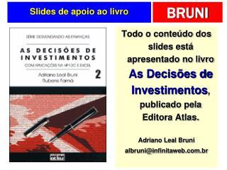 Slides de apoio ao livro