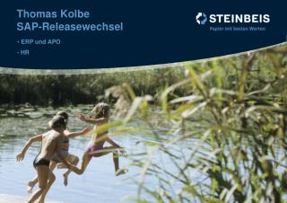 Thomas Kolbe SAP-Releasewechsel