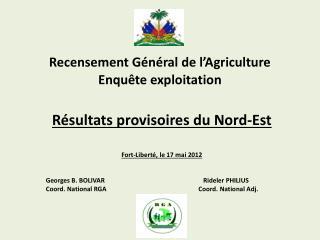 Recensement Général de l'Agriculture
