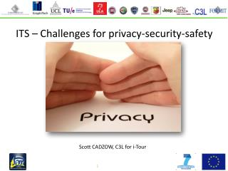 ITS – Challenges for privacy-security-safety