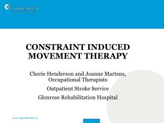 Constraint Induced Movement Therapy CIMT