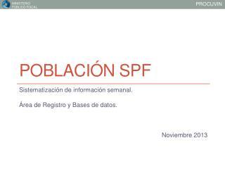 Población SPF