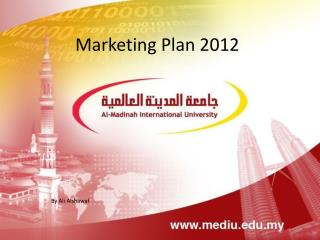 Marketing Plan 2012