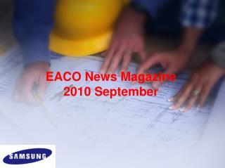 EACO News Magazine 2010  September