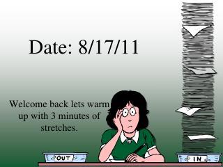 Date: 8/17/11