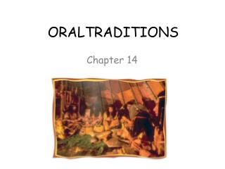 ORALTRADITIONS