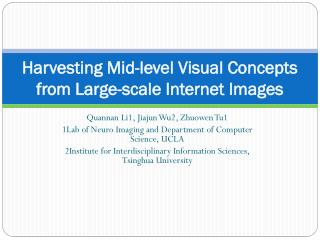 Harvesting Mid-level Visual Concepts from Large-scale Internet Images