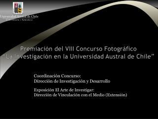 Exposición El Arte de Investigar:  Dirección de Vinculación con el Medio (Extensión)