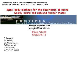 George Papadimitriou georgios@iastate.edu