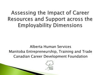 Assessing the Impact of Career Resources and Support across the Employability Dimensions