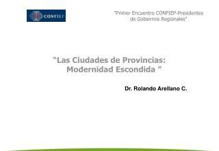 Primer Encuentro CONFIEP-Presidentes de Gobiernos Regionales