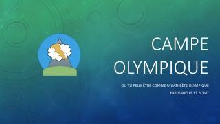 Campe  OLYMPIQUE