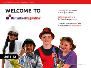What is Destination ImagiNation?