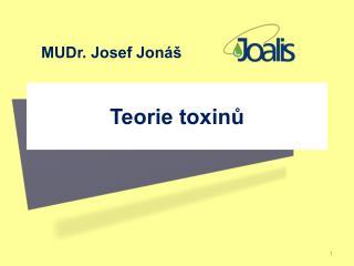 Teorie toxinů