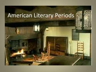 American Literary Periods