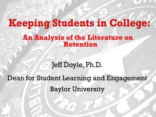 Jeff Doyle, Ph.D.