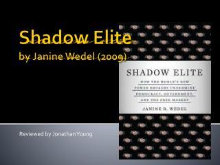 Shadow Elite by Janine Wedel (2009)