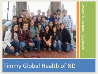 Timmy  Global Health of  ND