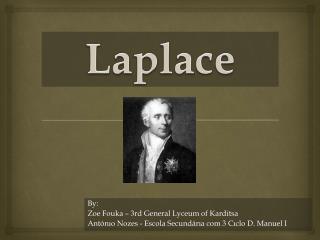 By:  Zoe Fouka  – 3rd General  Lyceum  of  Karditsa