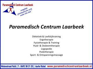 Paramedisch  Centrum Laarbeek