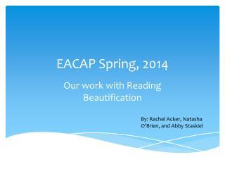 EACAP Spring, 2014