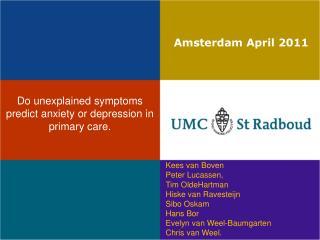 Amsterdam April 2011