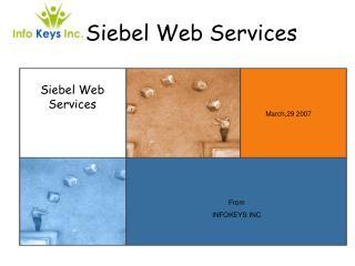 Siebel Web Services