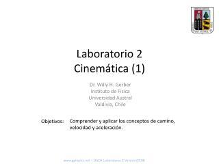 Laboratorio 2 Cinemática (1)