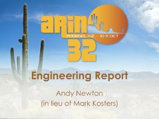 Engineering Report