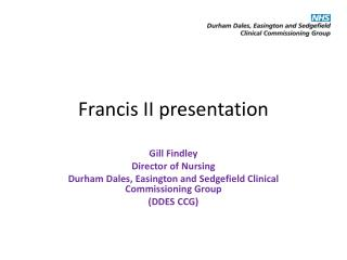 Francis II presentation
