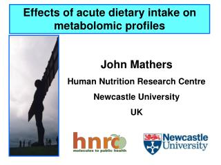 Effects of acute dietary intake on  metabolomic  profiles