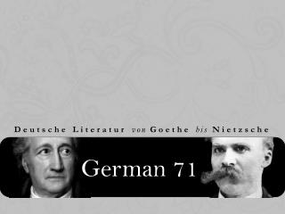 German 71