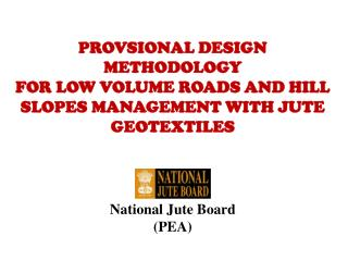National Jute Board (PEA)
