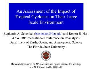 Benjamin A. Schenkel  ( bschenkel@fsu.edu ) and Robert E. Hart