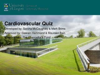Cardiovascular Quiz