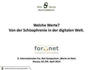 Welche Werte? Von der Schizophrenie in der digitalen Welt.