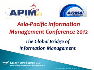Asia-Pacific Information Management Conference 2012