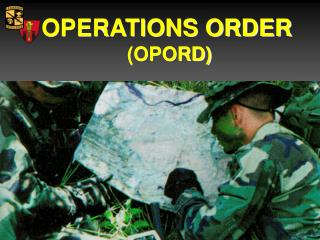 OPERATIONS ORDER - Army ROTC