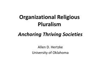 Organizational Religious Pluralism