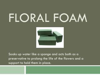 Floral Foam